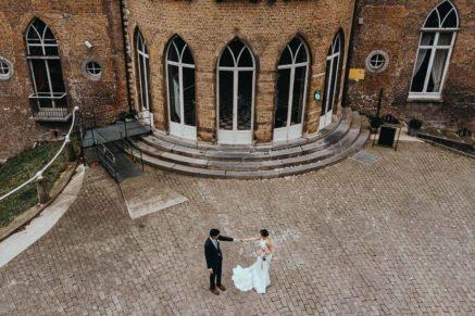 Bruiloft in de kasteel wissekerke